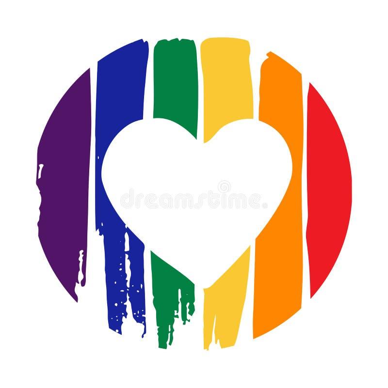 Valentin gay-17 stock illustrationer