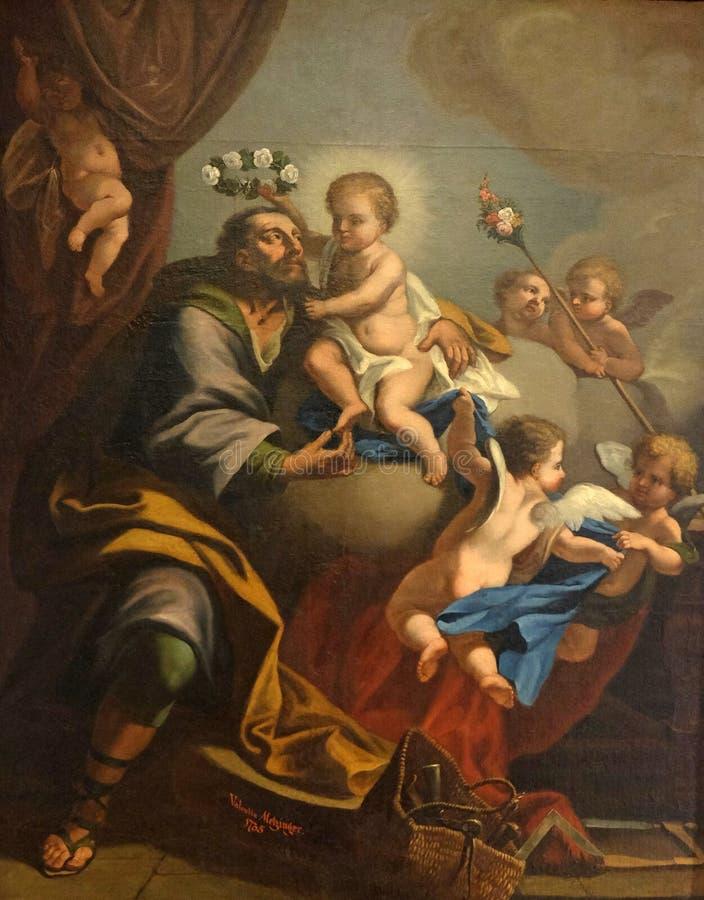 Valentin Metzinger : Saint Joseph image libre de droits