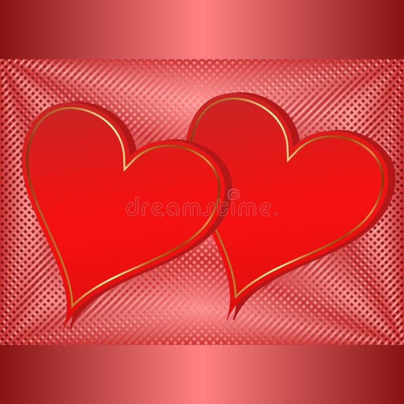 Valentinbakgrund Arkivbild