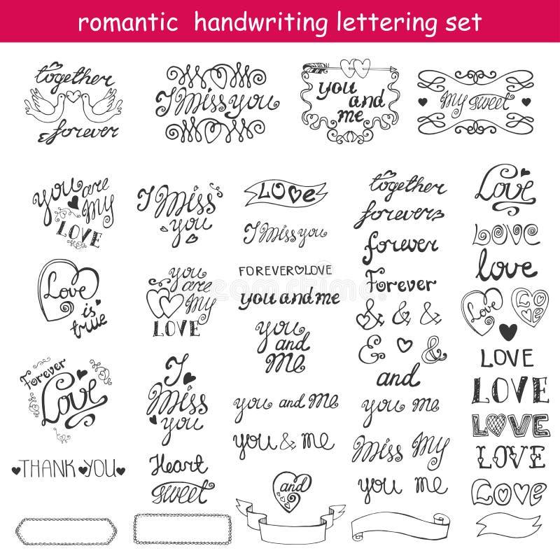 Valentindag, förälskelse som märker, etiketter _ vektor illustrationer