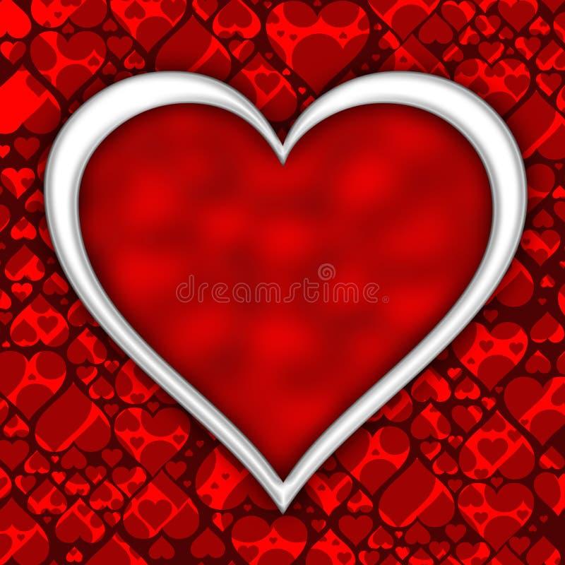 Valentindagbakgrund royaltyfri illustrationer