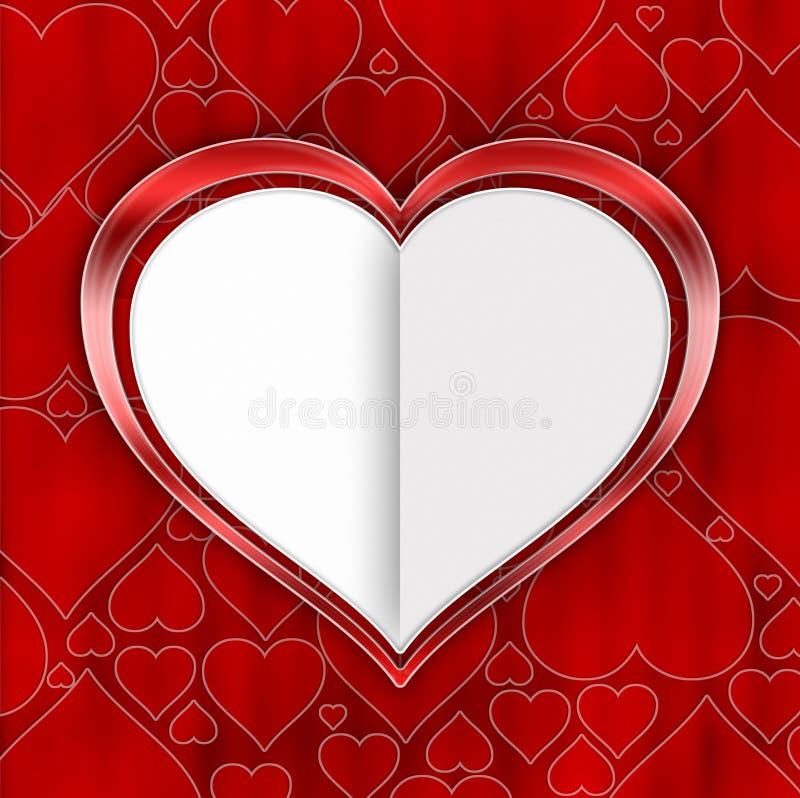 Valentindagbakgrund vektor illustrationer