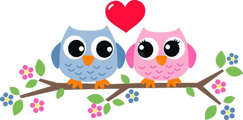 Valentindagförälskelse stock illustrationer