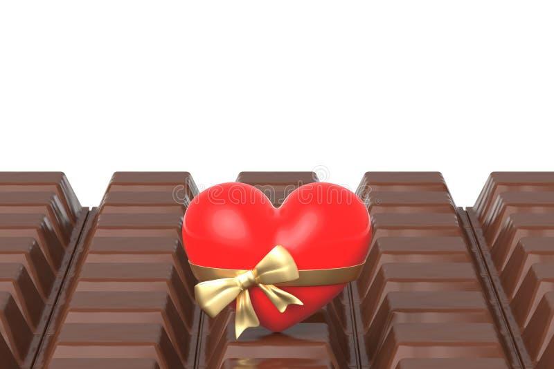 Valentine's-Tagesgeschenk lizenzfreie abbildung