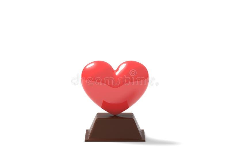Valentine's-Tagesgeschenk vektor abbildung
