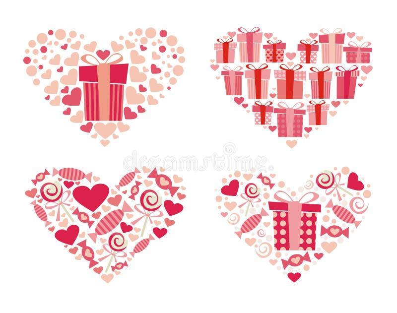 Valentineâs Innere lizenzfreie stockfotografie