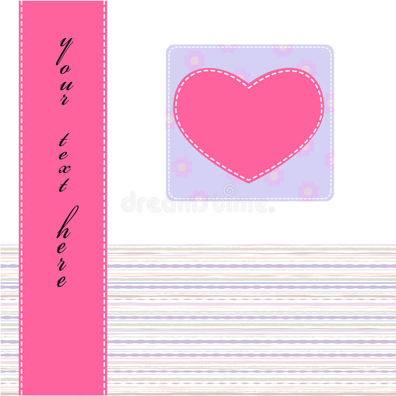 Valentine stock illustration