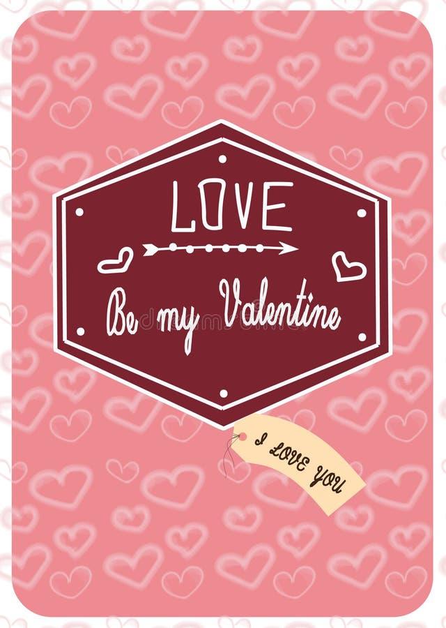 Valentine3 illustration stock