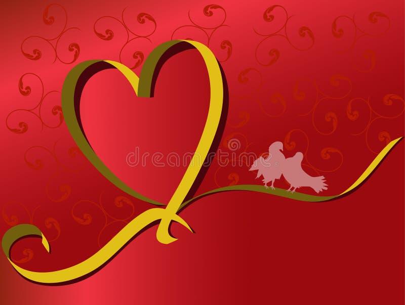Valentine stock illustration