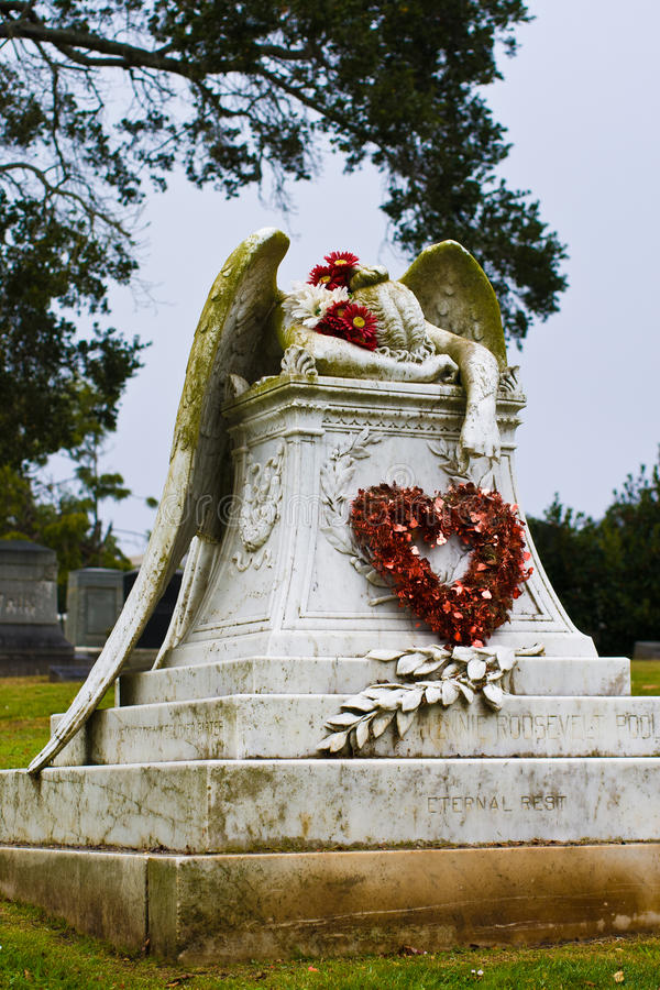 Valentine Angel fotografie stock