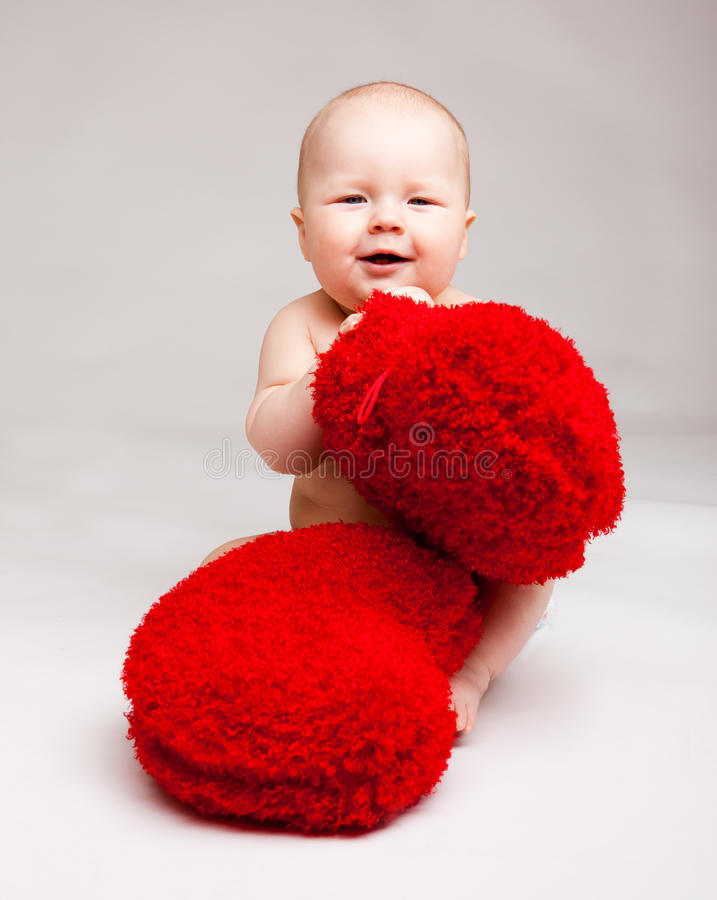 Download Valentine baby stock photo. Image of lifestyle, love - 18234728