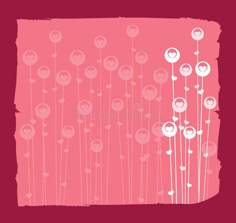 Valentine Background vector illustration