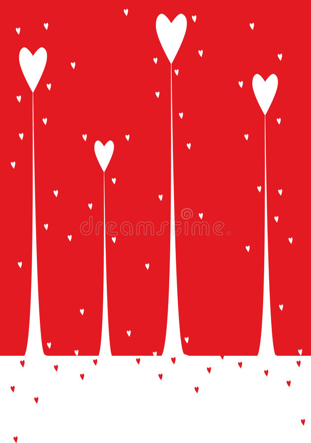 Download Valentine background stock vector. Image of friendship - 7476900