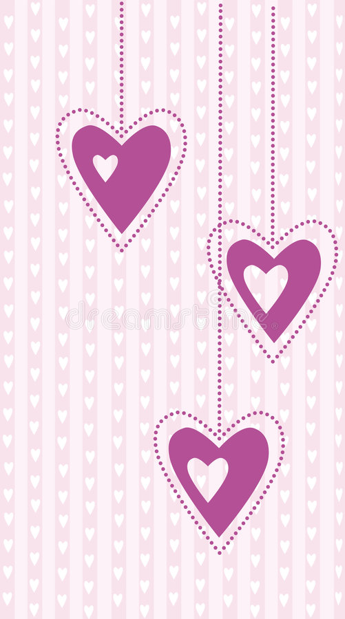 Download Valentine background stock vector. Illustration of shape - 7478479