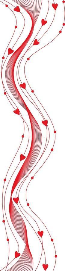 Download Valentine background stock vector. Illustration of heart - 7496561