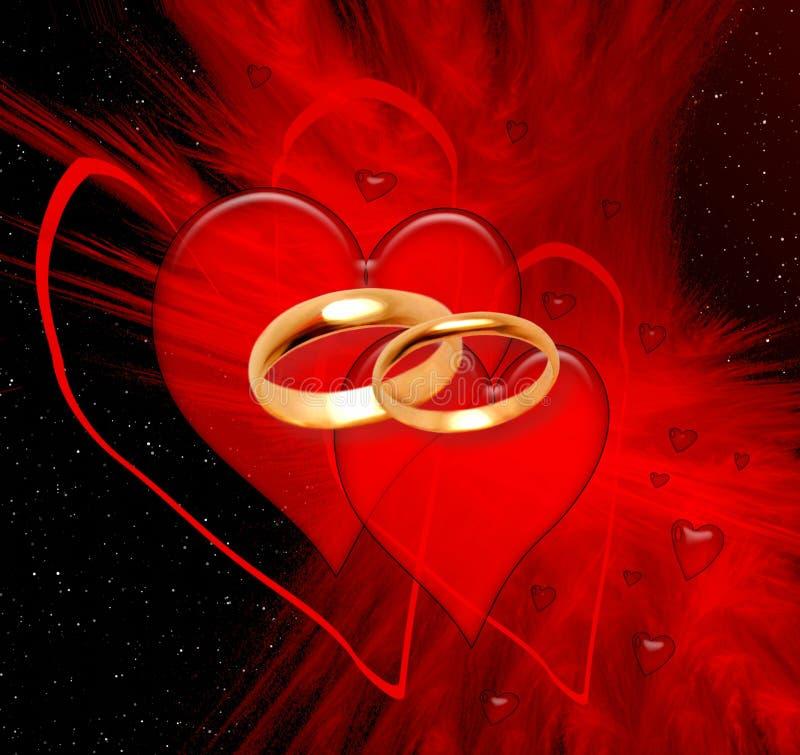 Valentine background stock photos