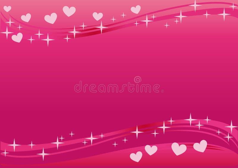 Download Valentine background stock vector. Image of pink, concept - 8124035