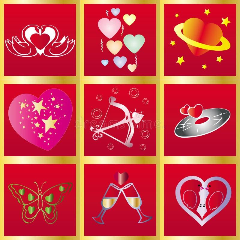 Valentine Background7 illustration libre de droits