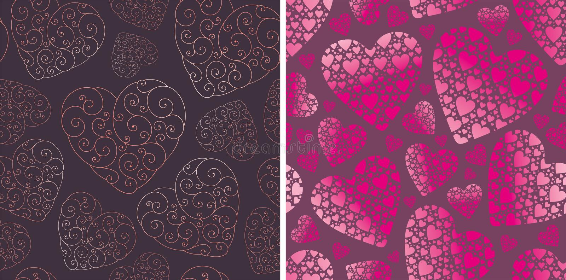 Download Valentine backgrounds stock vector. Illustration of dark - 17835511