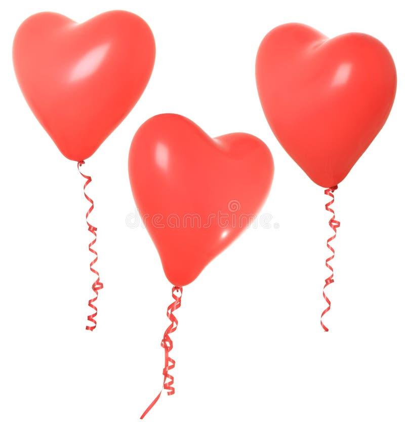Valentine balloon royalty free stock image