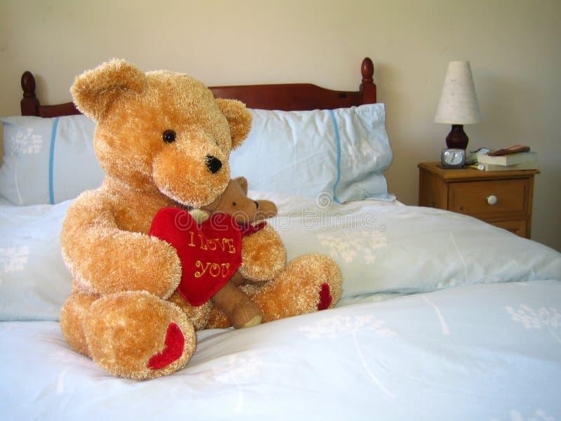 Valentine Bear stock photography