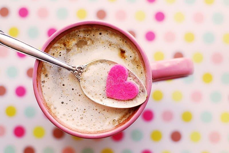 Valentine beverage stock images