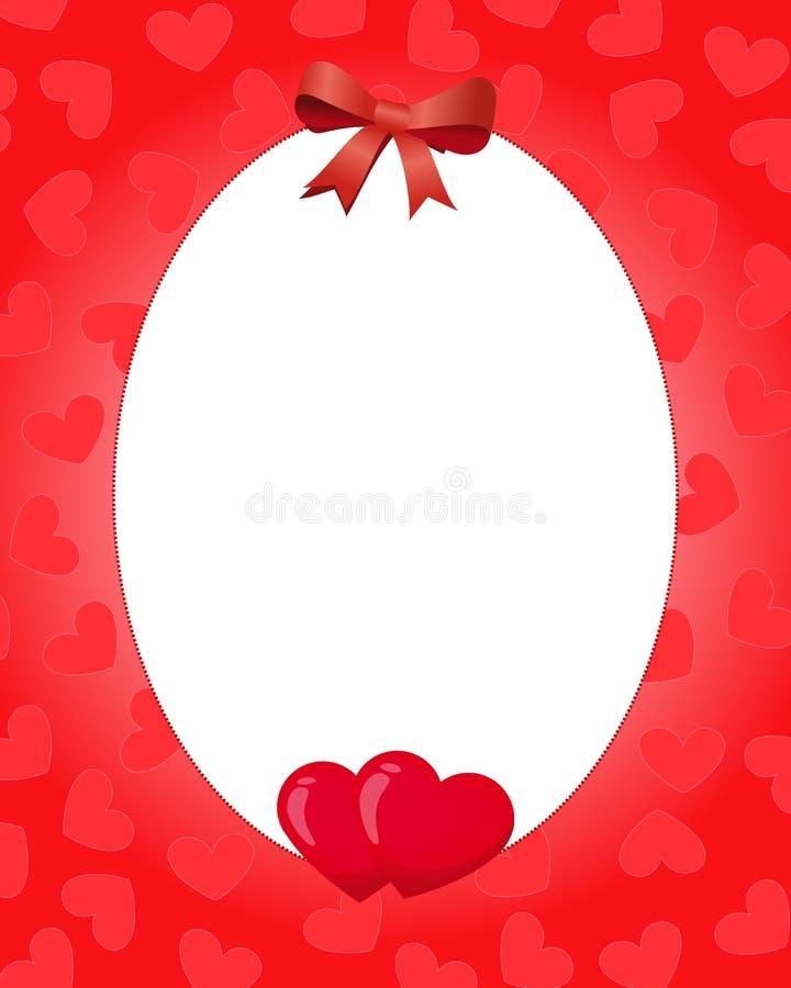 Download Valentine border stock illustration. Image of romantic - 29049264