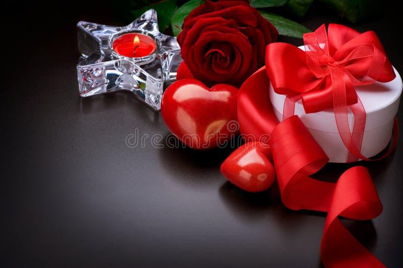 Valentine Border Design Royalty Free Stock Images