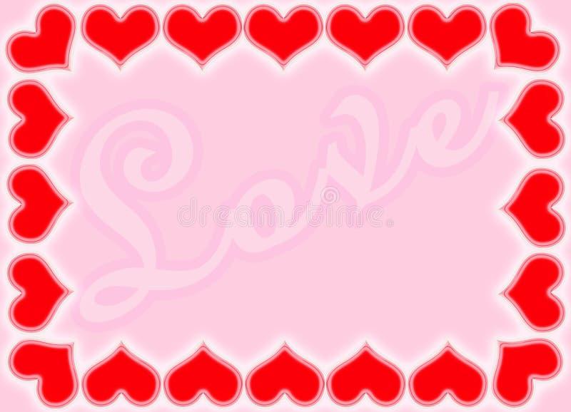 Valentine Borders Royalty Free Stock Image