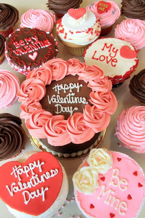 Valentine Cakes imagen de archivo