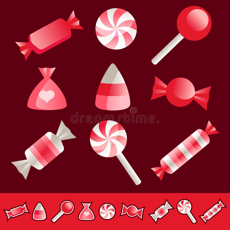 Download Valentine Candies stock vector. Illustration of chocolate - 28423683