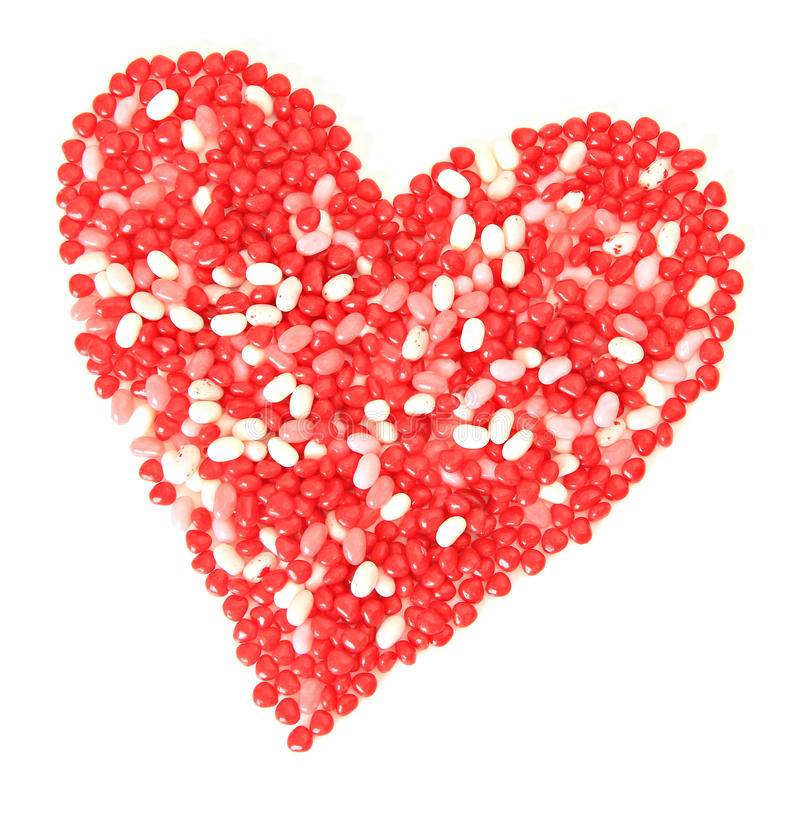 Valentine candy stock photography