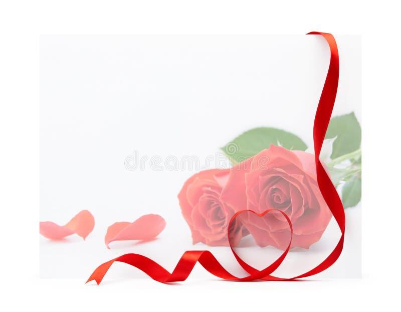 Download Valentine card stock image. Image of empty, ribbon, valentine - 12798765