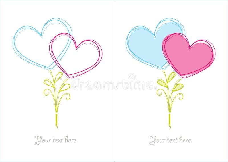 Download Valentine card stock vector. Illustration of symbol, illustration - 26586977