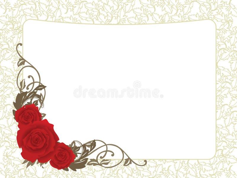 Valentine card vector illustration