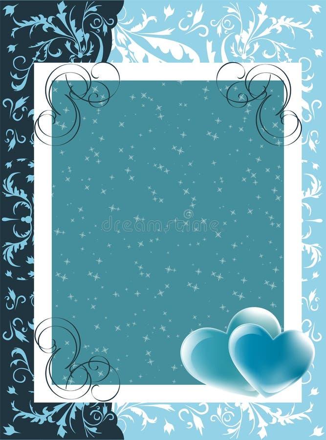 Valentine card royalty free illustration