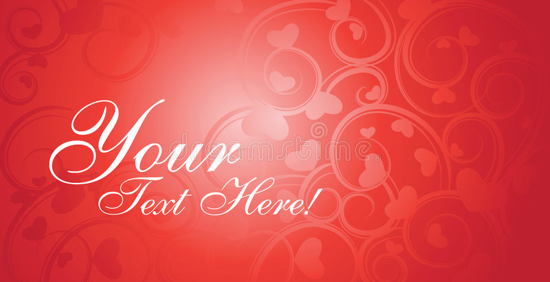 Download Valentine card vector stock vector. Image of event, celebrating - 7624126