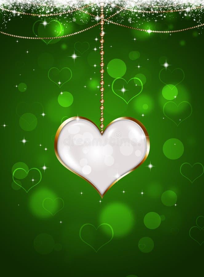 Valentine Celebration Background stock de ilustración