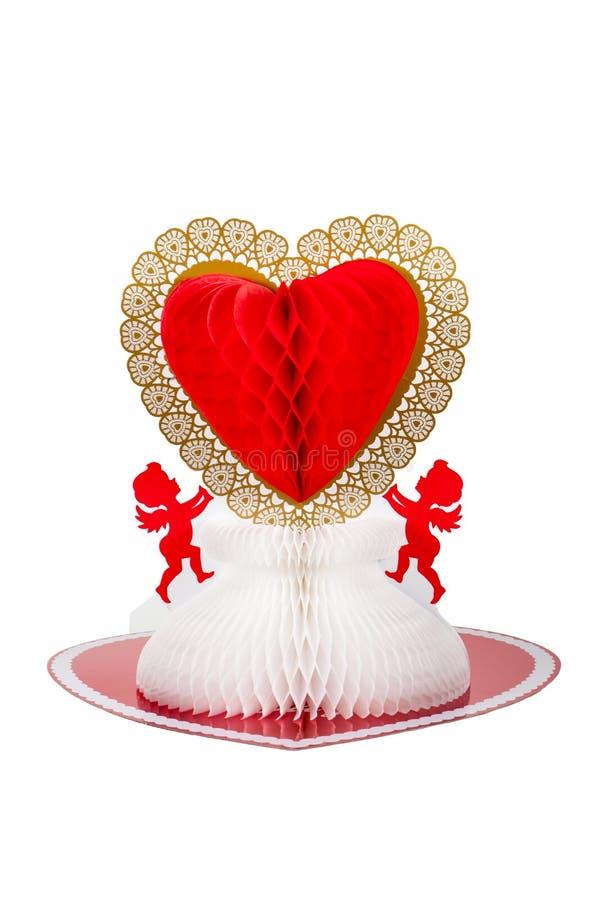 Valentine Centerpiece image stock