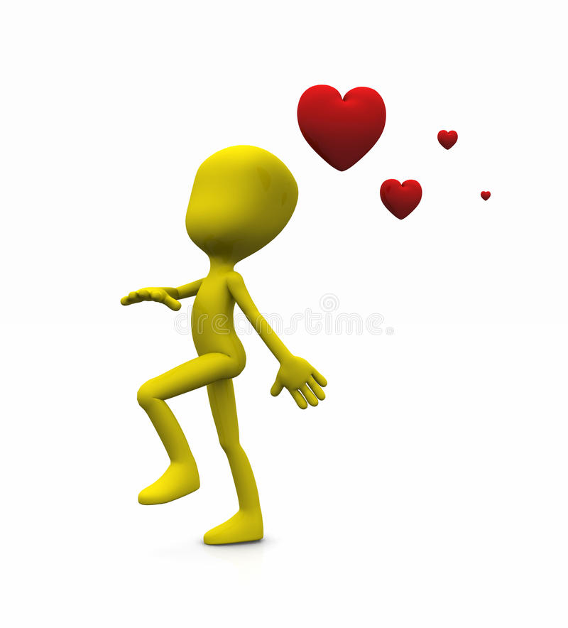 Valentine Character Stock Images