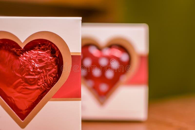Valentine Chocolate Heart royalty-vrije stock fotografie