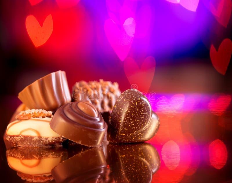 Valentine Chocolates lizenzfreie stockbilder