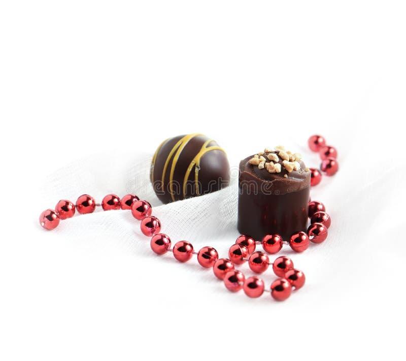 Valentine Chocolates II royaltyfri foto
