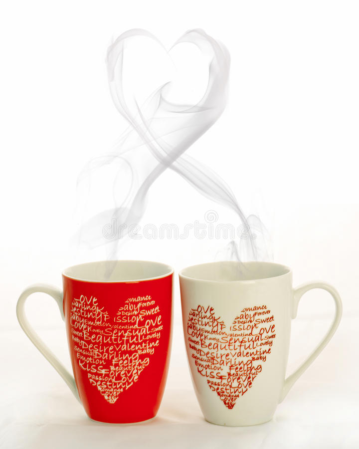 download valentine coffee cups stock photo image of blazing breakfast 17895238