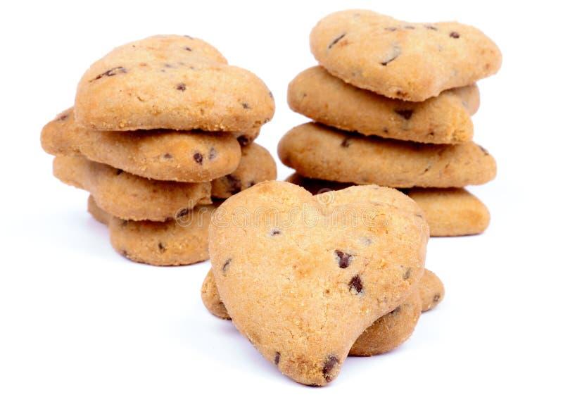 Valentine Cookies fotografie stock libere da diritti