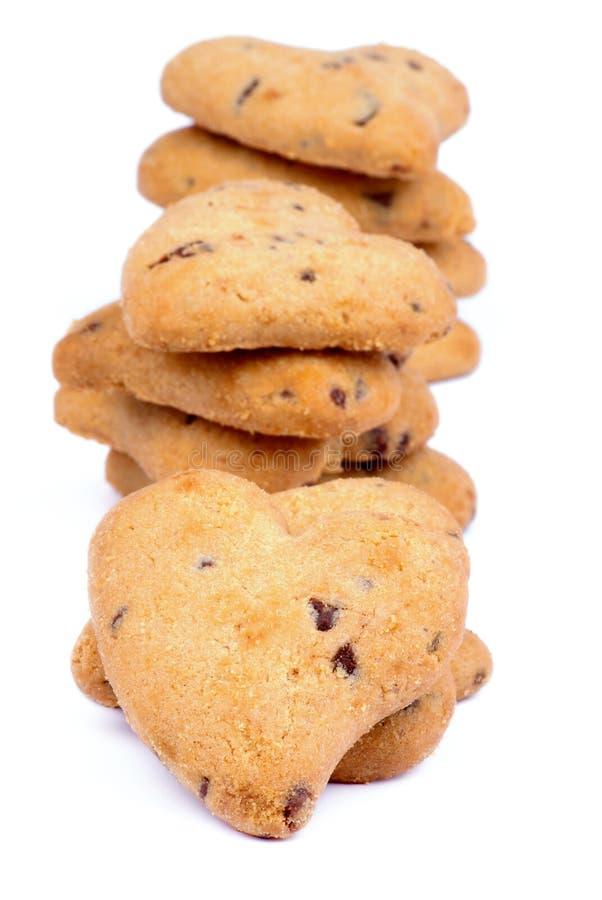 Valentine Cookies fotografia stock libera da diritti