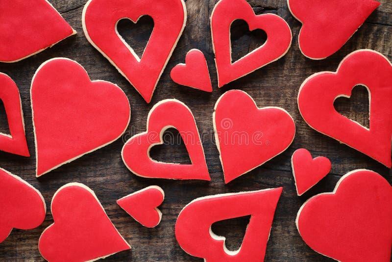 Valentine cookies royalty free stock photos