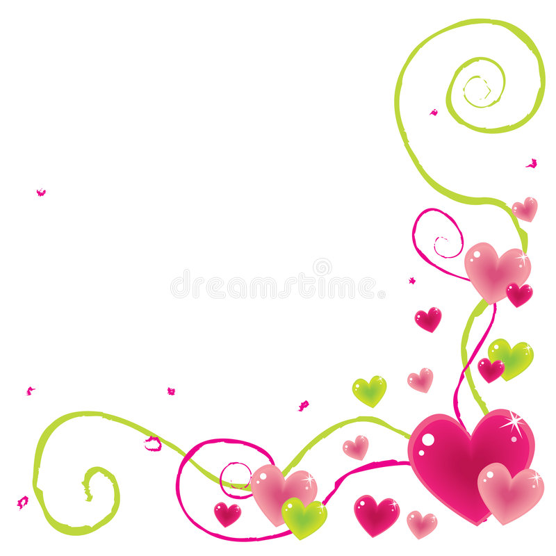 Download Valentine Corner Royalty Free Stock Photos - Image: 7158668