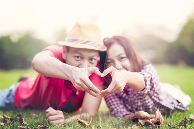 Valentine Couple fotografia de stock
