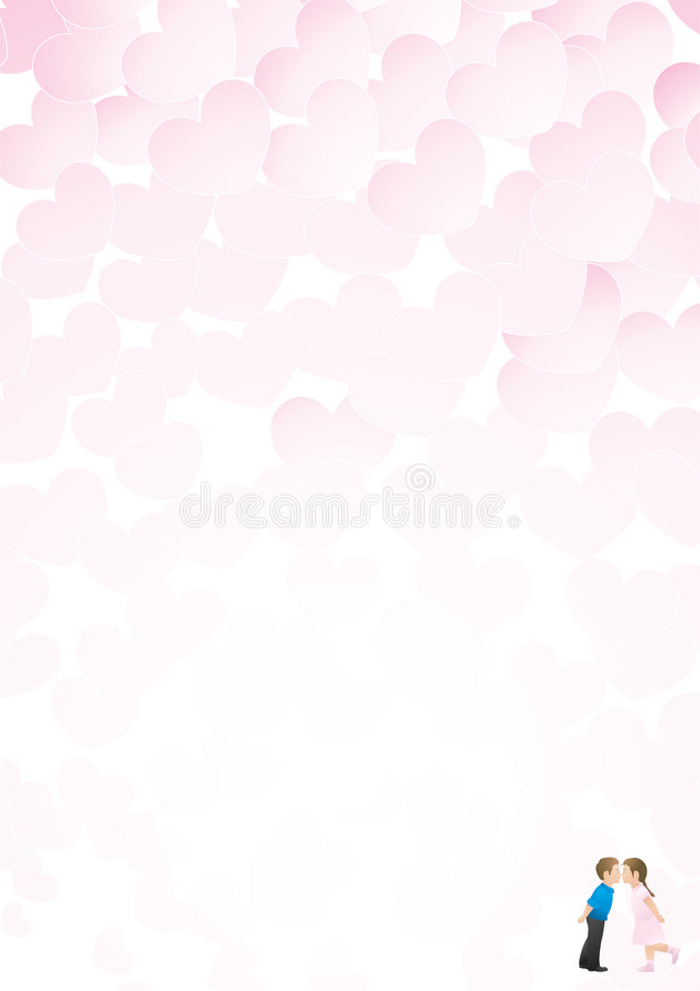 Valentine cupid vector illustration